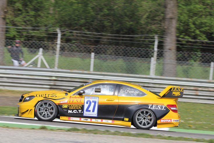 EuroV8 Series: Eddie Cheever III su Mercedes si aggiudica a Monza la prima pole della stagione 2014 della EUROV8 Series