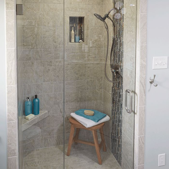 Fantastic White Porcelain Tile Half Walls Tile Showers Bathroom Back Splashes