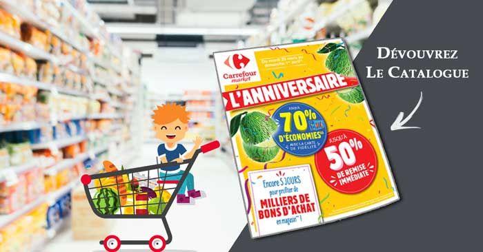 Feuilletez Le Catalogue Carrefour Market En Ligne Contenant 56