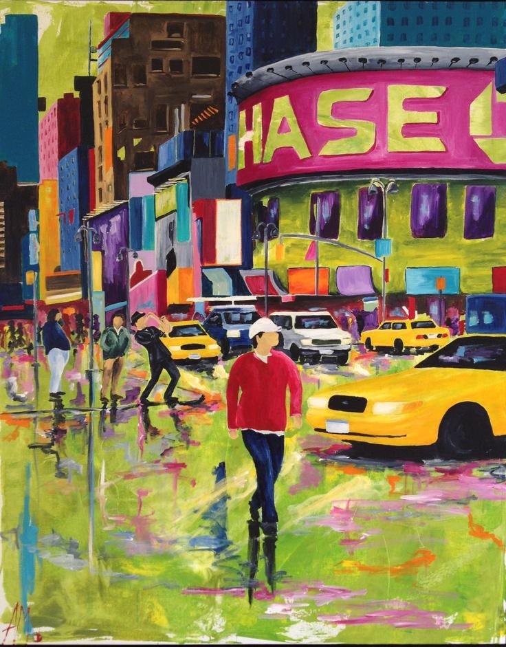 """New York Rhapsody"" 80x100"
