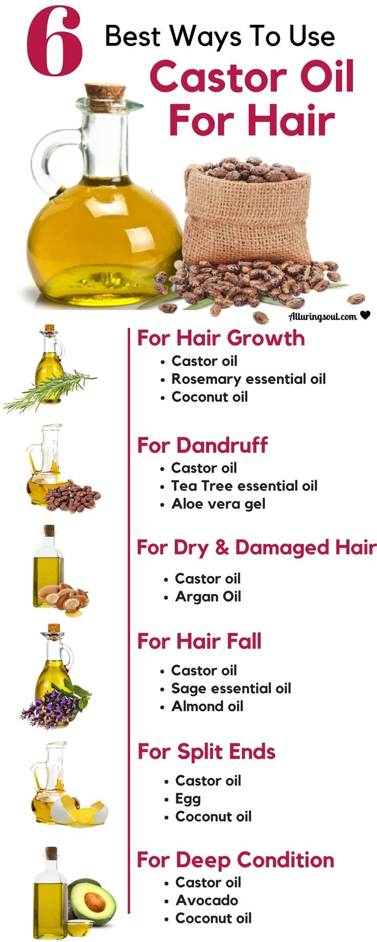 All you need is castor oil for hair. It nourishes hair roots, promotes hair growth, deep conditions hair and solves many other problems. Check it out, how can it help you.