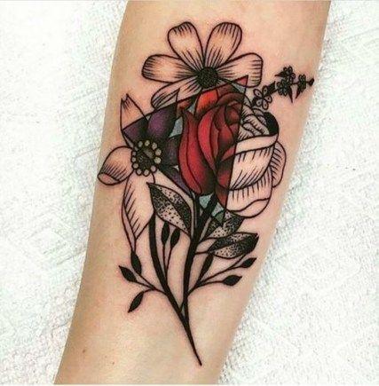 Tattoo #Forearm #Flowers # 49 #New #Ideas # #tattoo