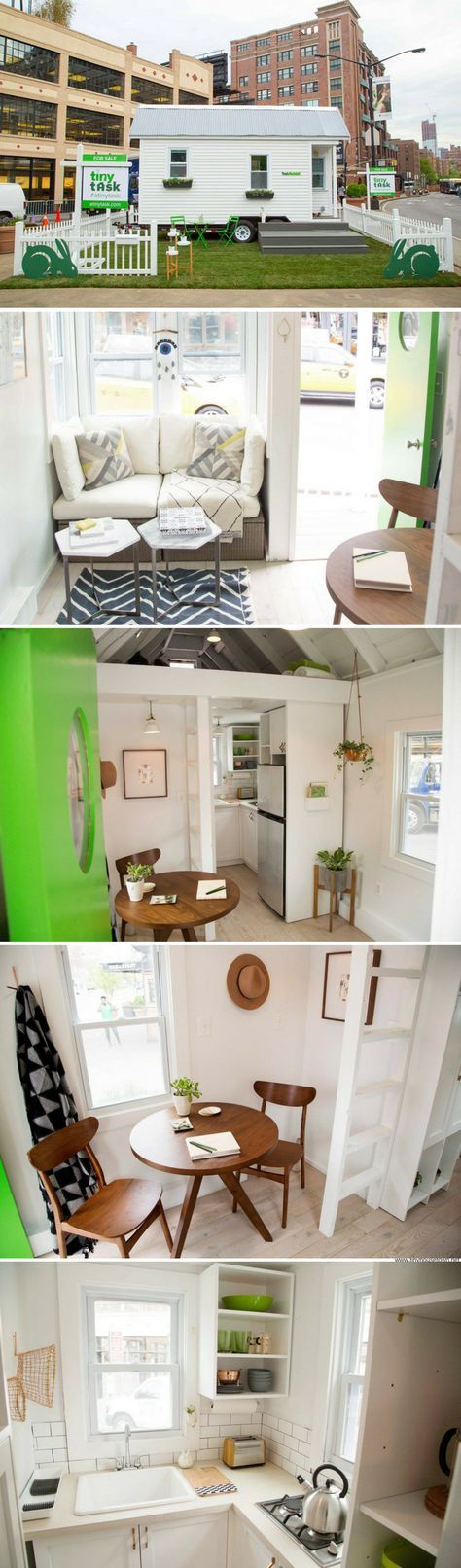 A beautiful x tiny house built in