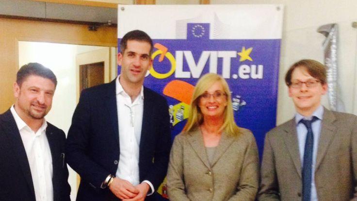 Στο Γερμανικό ΥπΟικ με Περιφερειάρχη Στερεάς Ελλάδας Κ.Μπακογιάννη, με Γεν.Δ/ντρια Ευρωπαϊκών Θεμάτων C.Torr-Voss και Υπεύθυνο ΕΕ Κρατών S.Groning. Σύσκεψη στο Βερολίνο για Τουρισμό κ Επιχειρηματικότητα
