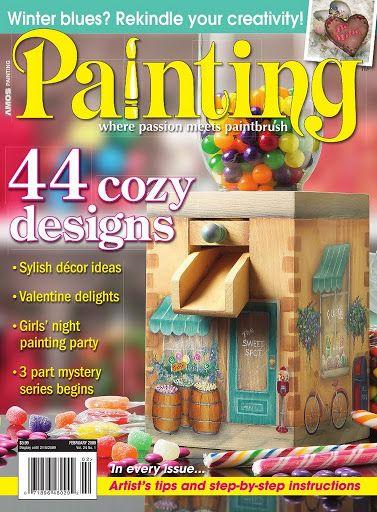 Painting - Fevereiro 2009 - TereBauer 1 - Álbuns da web do Picasa...FREE MAGAZINES!!