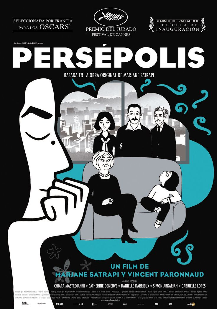 Persépolis / Mariane Satrapi and Vincent Paronnaud. Full movie here ( with Eng sub ) : http://www.youtube.com/watch?v=fNx4Pa2Gqfk