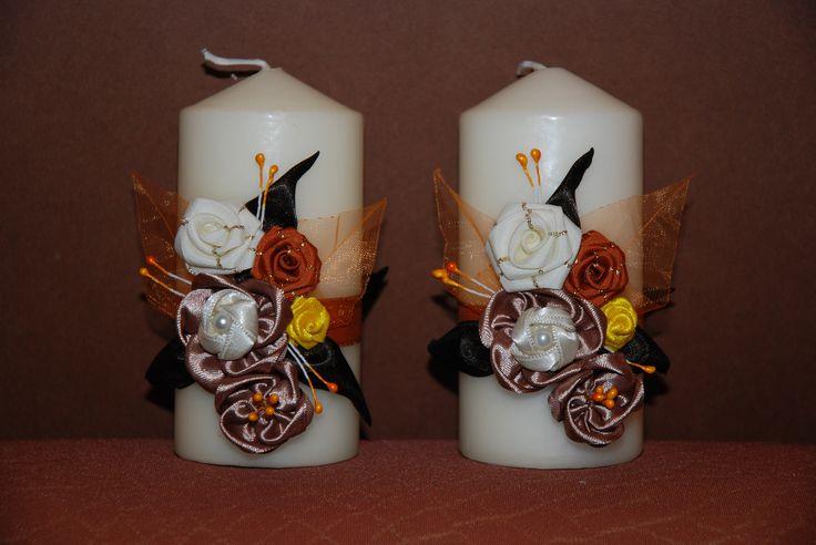 svíčky dvojičky.