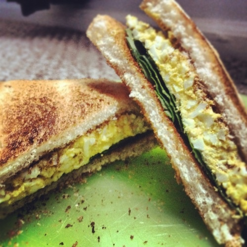 Curry egg salad! | Mmmmmm so good | Pinterest