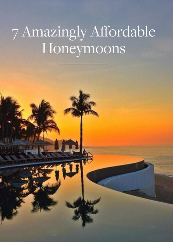 Planning a honeymoon in 2017?  Check out these amazing alternatives to some popular locations.  #honeymoons #weddings Let us help you plan your honeymoon by requesting a quote at http://destinationsinflorida.com/pinterest