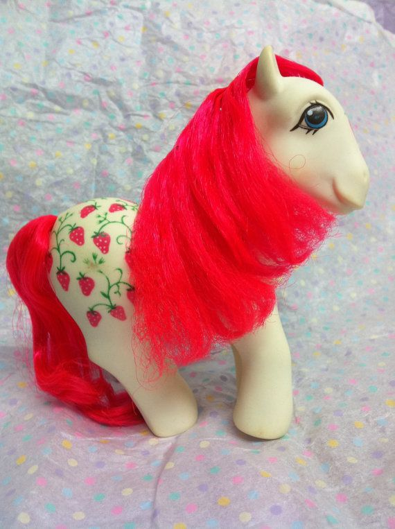 Vintage My Little Pony Twice As Fancy Sugarberry    $7
