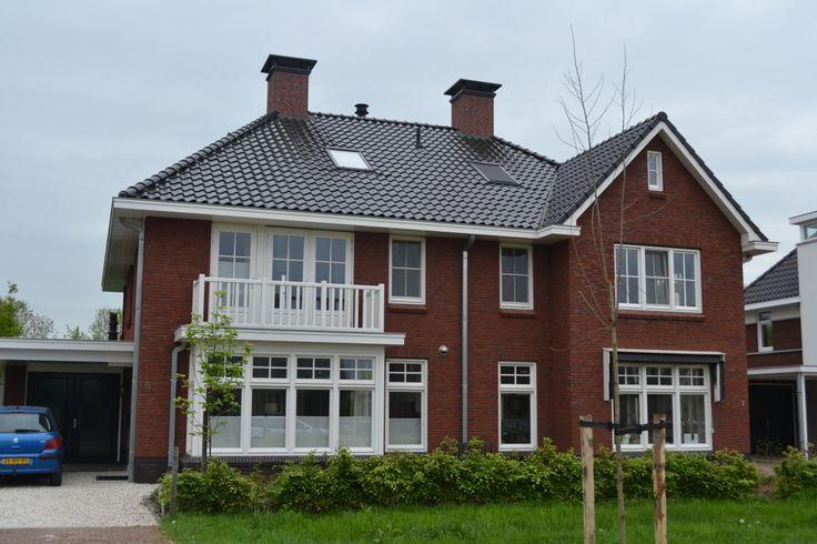 Nieuwbouw 2 onder 1 kap woning te Twello   Dijkhof Bouw