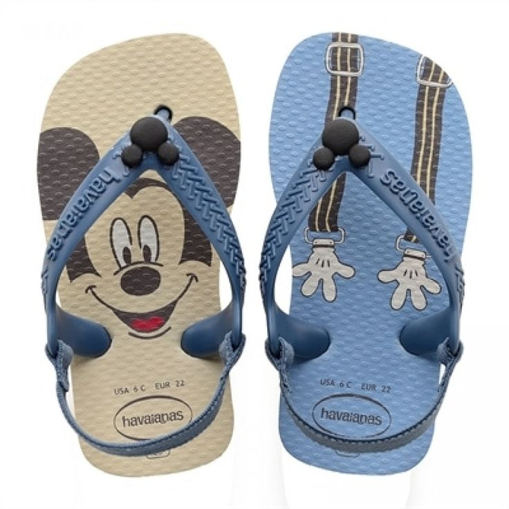 Havaianas New Baby Disney Classic Beige Flip Flops  Price From: 22,74$CA  https://flopstore.ca/ca_french/baby/havaianas-new-baby-disney-classic-beige-flip-flops.html