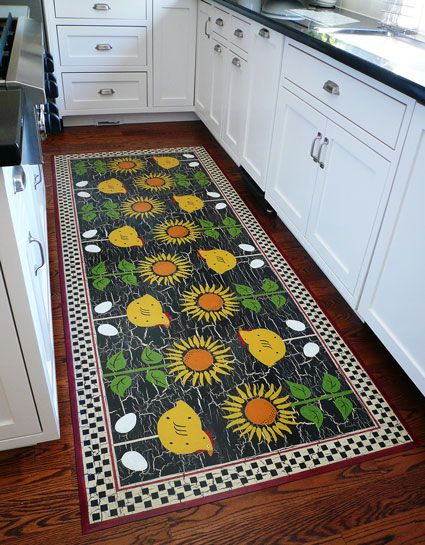 52 best painted canvas floor cloths images on pinterest for Painted vinyl floor cloth