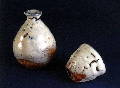 japanese bottle and cup ochoko