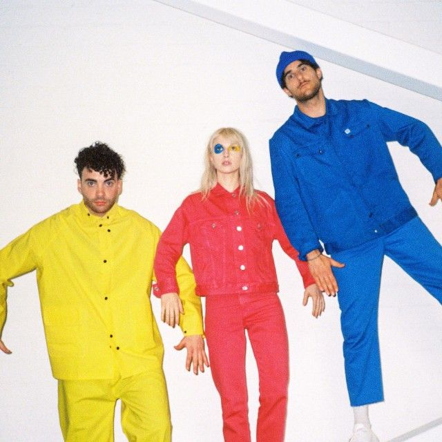 Here is Paramore AKA the wiggles ♡
