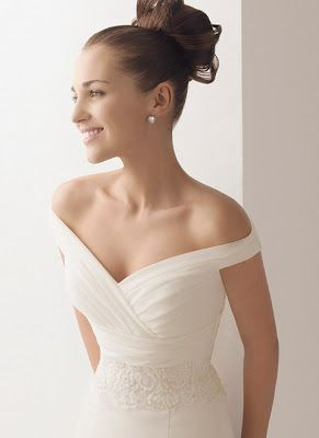 Wedding Dress With Sleeves Off The Shoulder