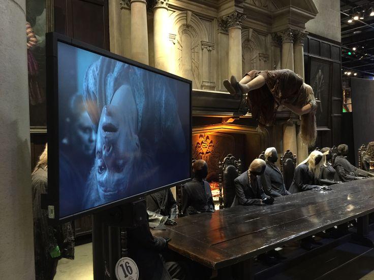 The making of Harry Potter at Warner Studios in London. Photo: Øyvind Brunvoll