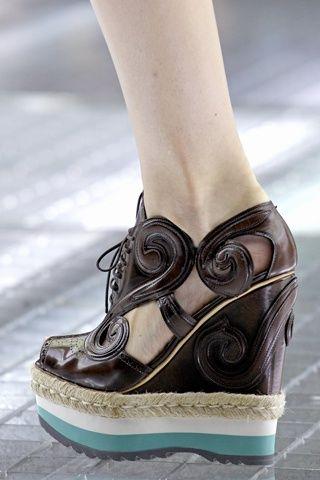 Prada Design works No.385 |2013 Fashion High Heels| | Ugly Shoes