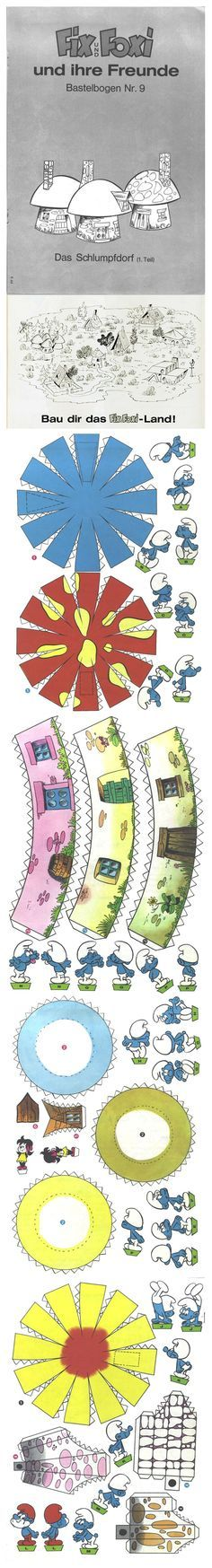 For fairy friends - for more houses check out printable houses and printable accessories