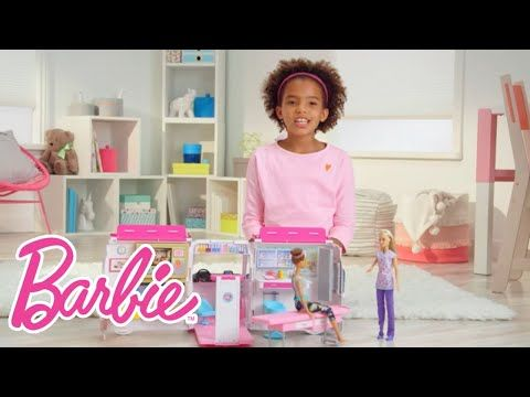 Barbie Mobile Care Clinic Demo Video Barbie Youtube Barbie
