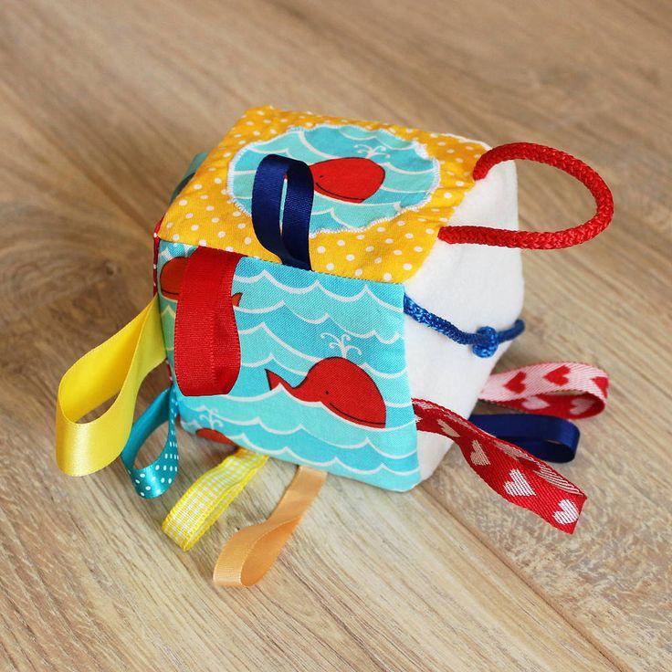 Hračky - Kocka sesternice veľryby Františky - 5302904_