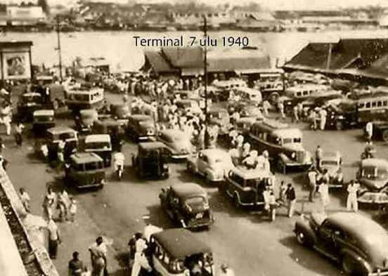 Terminal 7 ulu, Palembang 1940