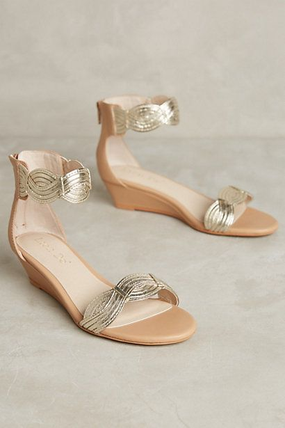 Lien.Do by Seychelles Culiacan Mini Wedges #anthropologie