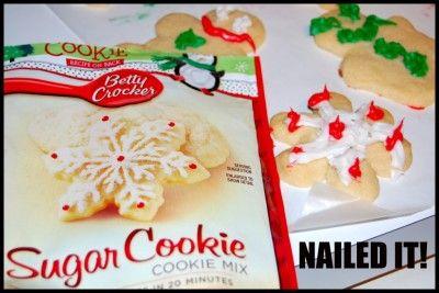 nailed it: Christmas Pinterest, Cookies Monsters, Sugar Cookies, Christmas Cookies, Crafts Fails, Nails It, Funny Stuff, Tasting Vagu, Pinterest Fails