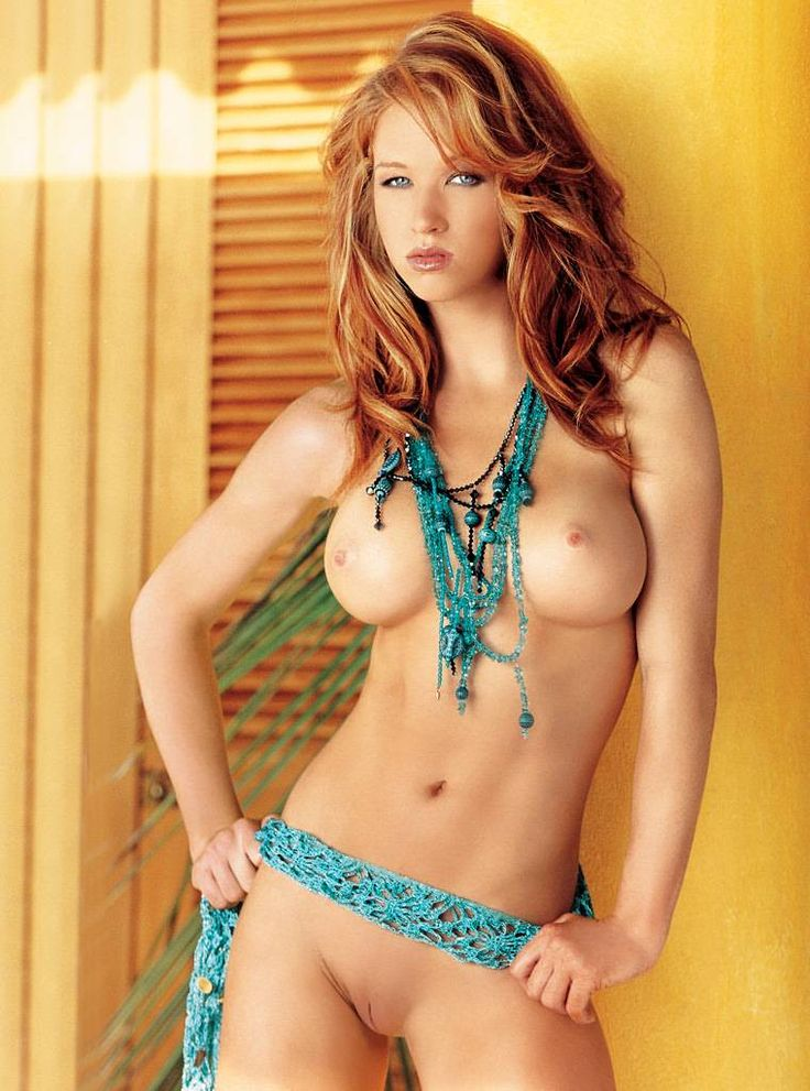 Pity, that Red head playmates nude