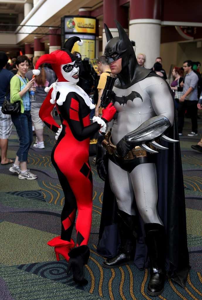 Batman & Harley Quinn cosplay