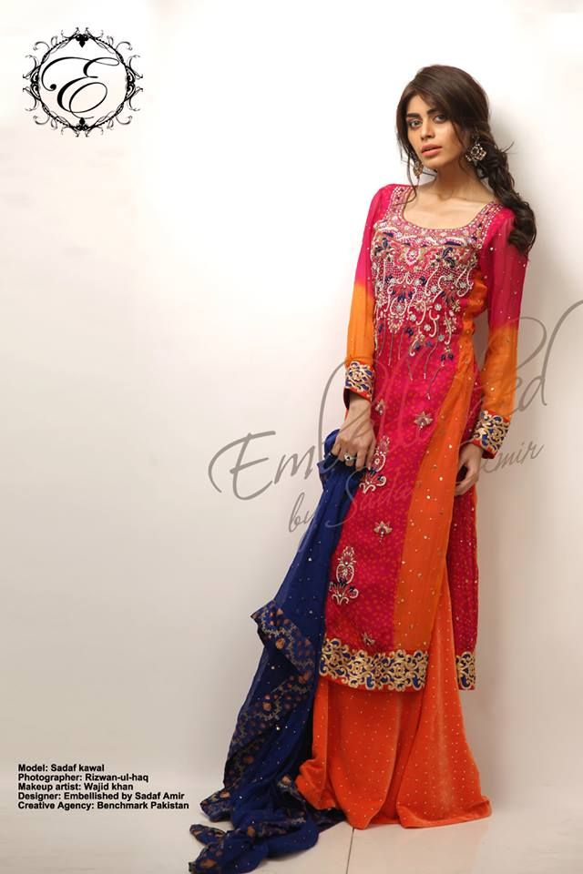Dazzling Eid Collection by Sadaf Amir.