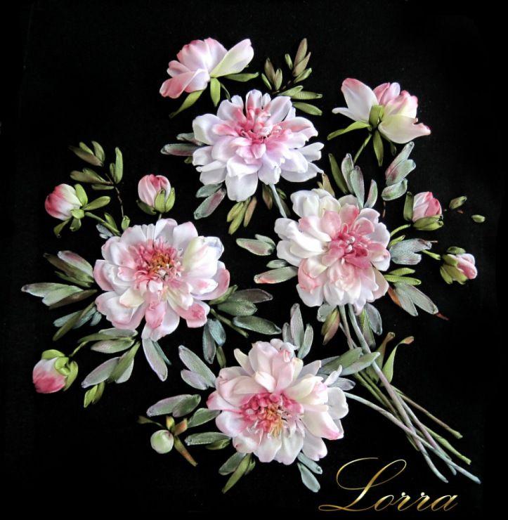 568 Best Silk Ribbon Embroidery Images On Pinterest