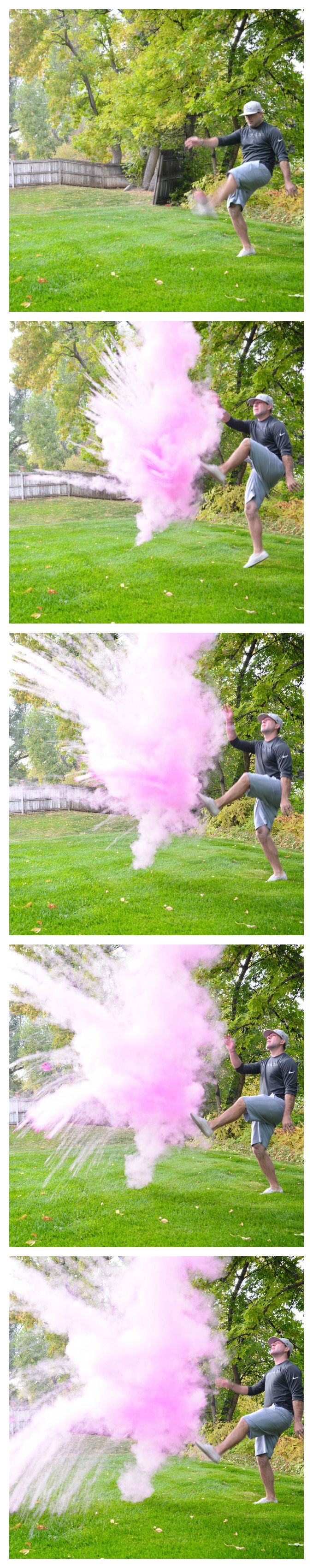 Football Gender Reveal! Cute Gender Reveal Ideas! Football Baby Shower