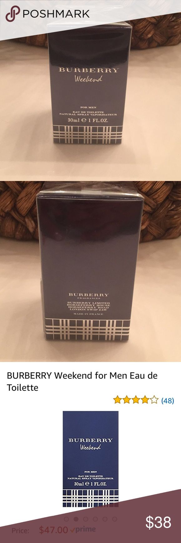 Burberry Weekend for Men Burberry Weekend for Men. Smells amazing but I accidentally ordered 2 bottles instead of 1. NWT. Burberry Other