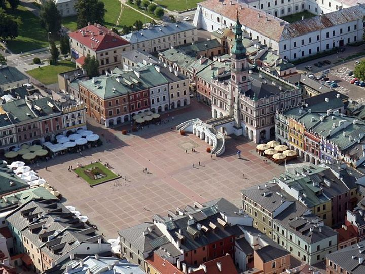 Zamość is a town in southeastern Poland.