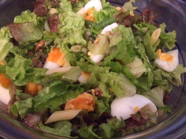 Lekker eten met Marlon: Salade met walnoten geïnspireerd door Rudolph van Veen