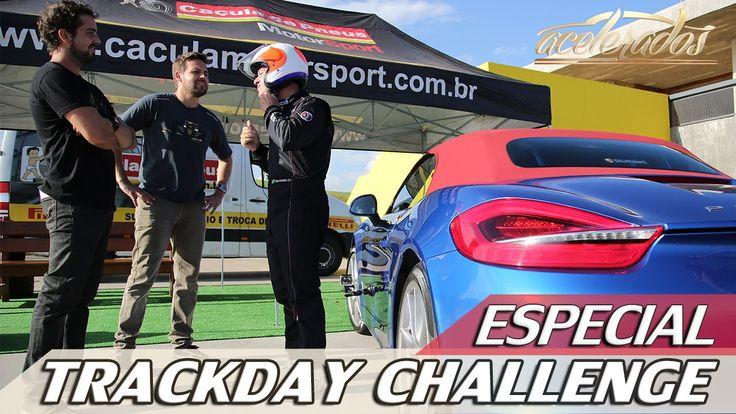 PORSCHE BOXSTER S | TRACKDAY CHALLENGE COM CAÇULA DE PNEUS | ACELERADOS