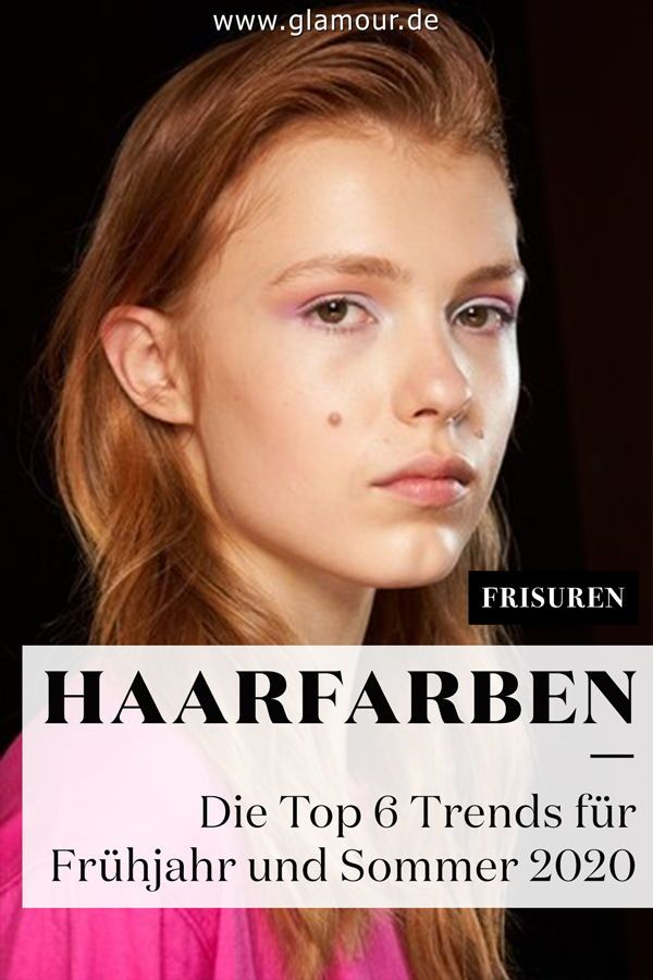 Haarfarben-Trends Frühjahr/Sommer 2020: Die Top 6 ...