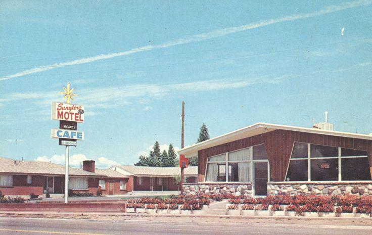 322 best images about vintage motels hotels on pinterest for Salt lake city fishing