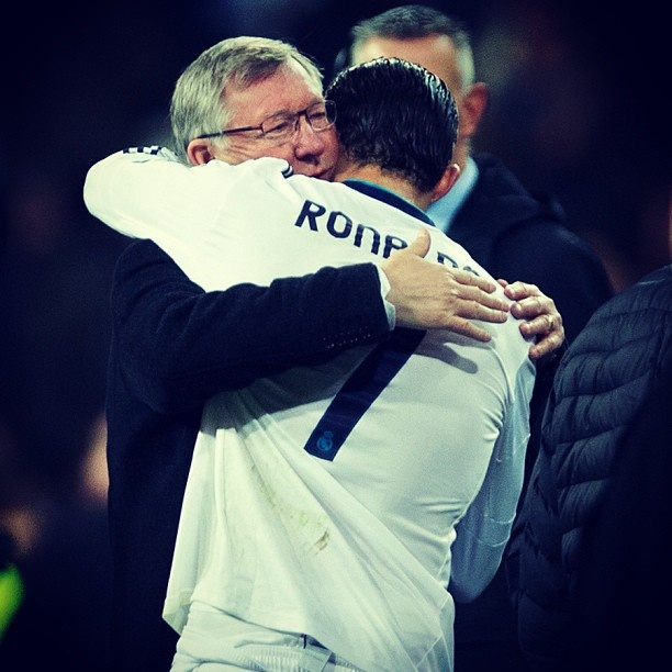 The respect for a coach never dies. #Soccer is love.