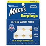 Best earplugs for sleeping and loud noises.