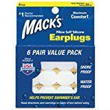 Best earplugs for sleeping and loud noises.