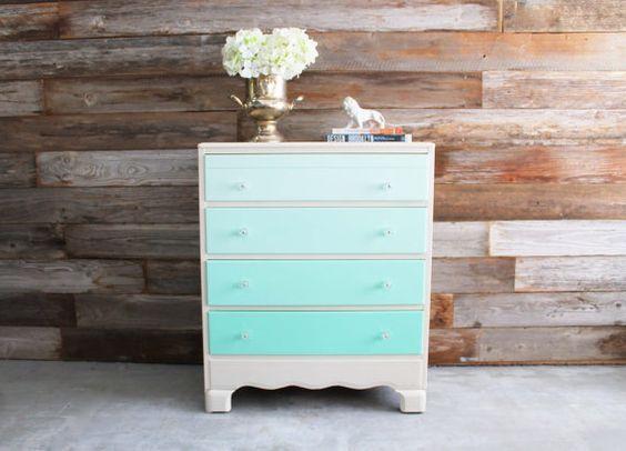 25 best ideas about mint dresser on pinterest dressers for Mint green furniture paint