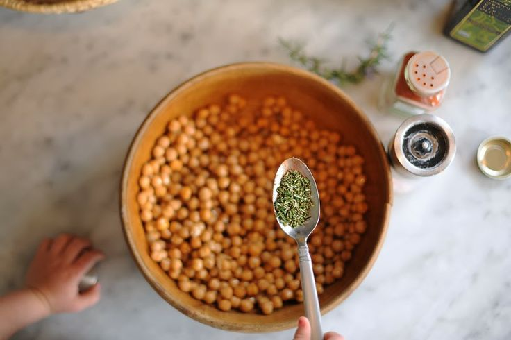 baked garbanzo beans