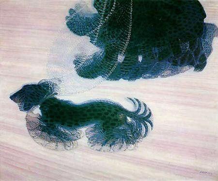 Giacomo Balla- Dynamism of a Dog on a Leash, 1912