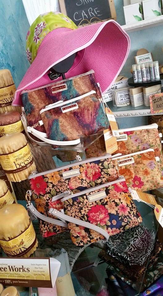 Cork purses