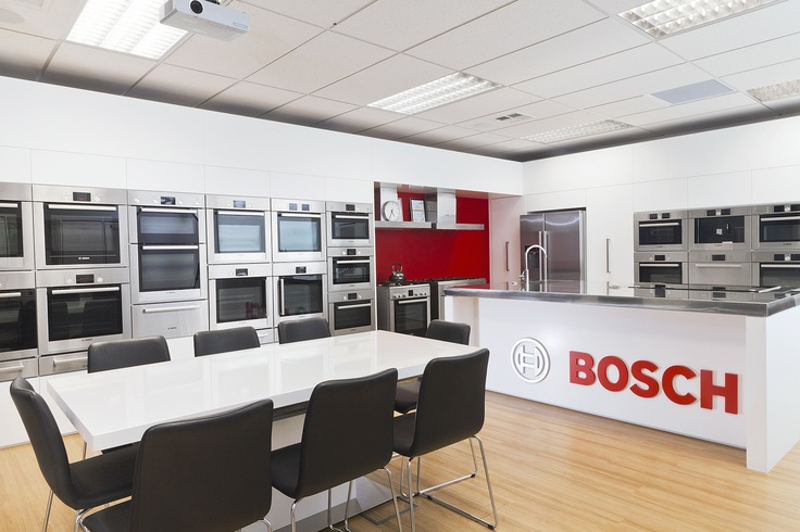 The beautiful Bosch showroom in Albany. Walked in, wanted to move in...