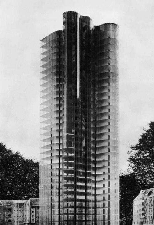 Mies Van Der Roheu2026 Glass Skyscraper Project 1922 @ Facebook