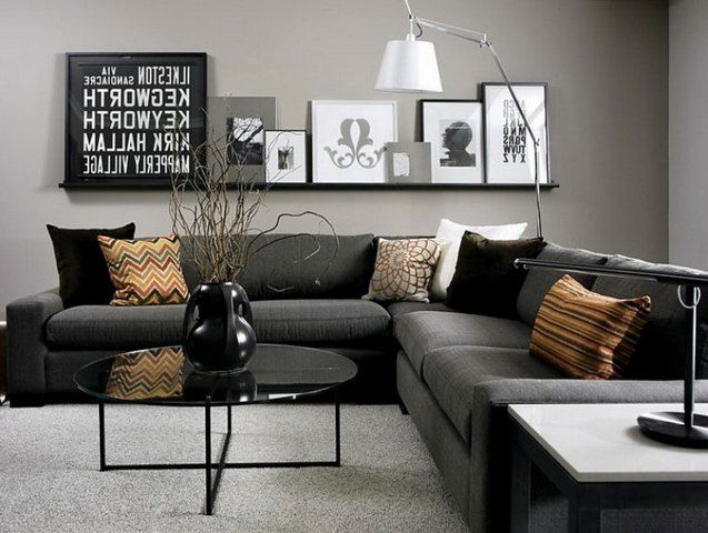 black grey white living room pictures