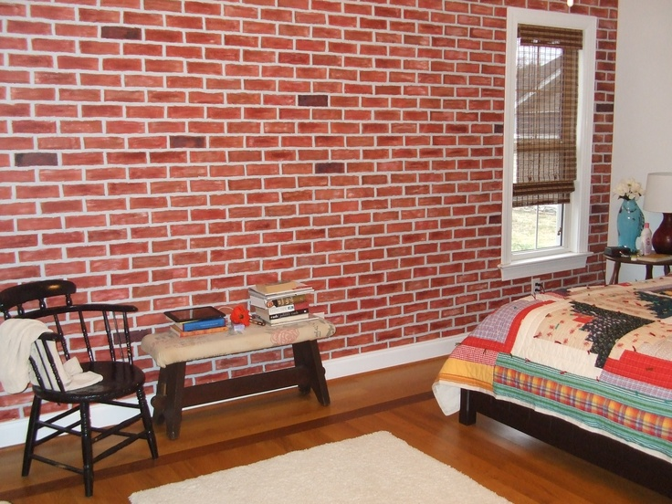 13 best Faux Brick images on Pinterest Faux brick Brick